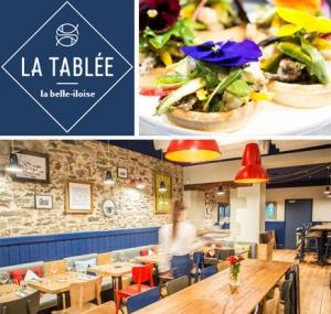 restaurant a Nantes la tablée, par la conserverie la belle iloise