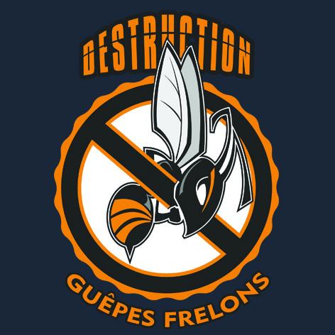 Logo destruction de frelons
