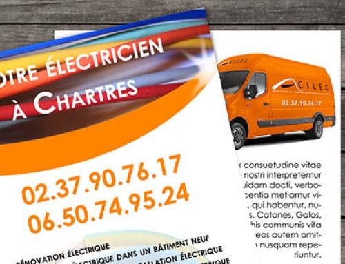 flyers pour artisan électricien