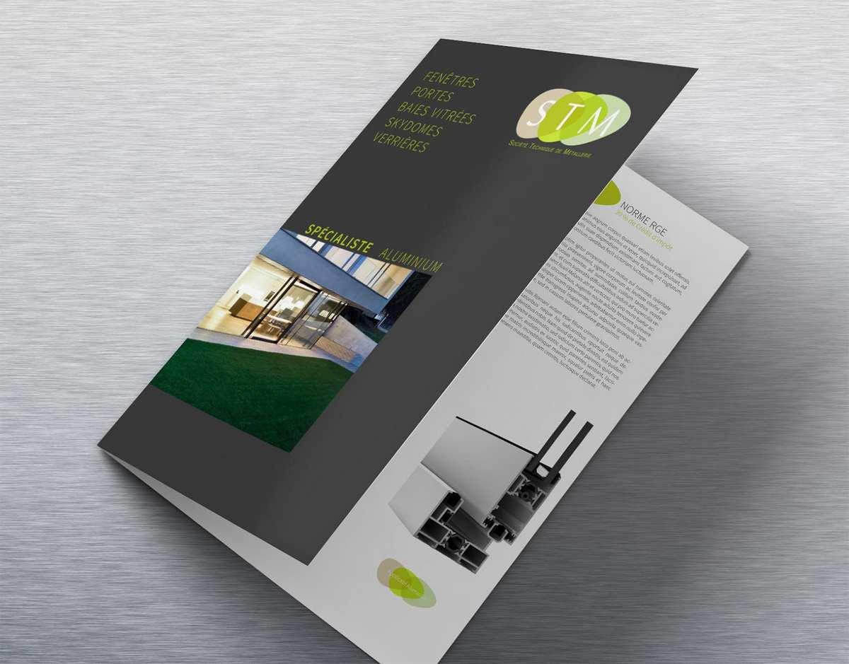 Plaquettes et bruchure publicitaires dans le 44 Loire atlantique