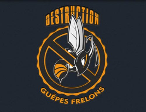 Logo destruction de Frelons