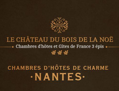 Modernisation du site pour Chambres d 'hôtes de charme près de Nantes